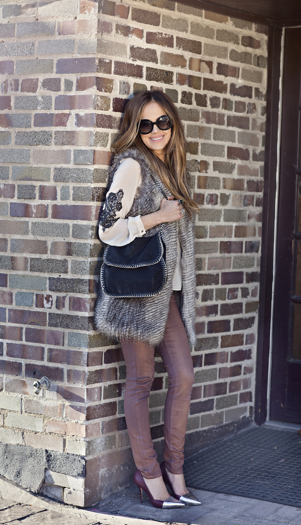 Faux Fur Vest Doesn't Have To Be An InVESTment ;) • The