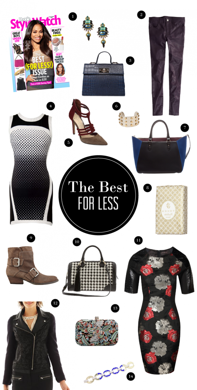 People StyleWatch (the best for less issue) Picks
