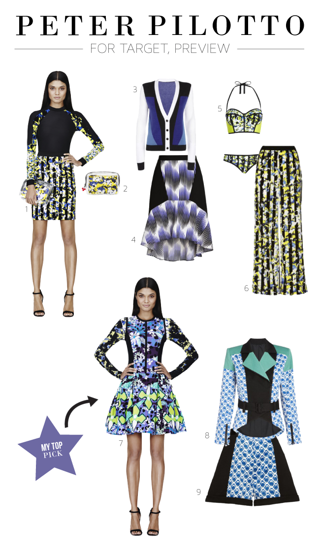 Peter Pilotto for Target Preview