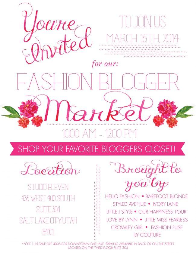 Fashion Blogger Market