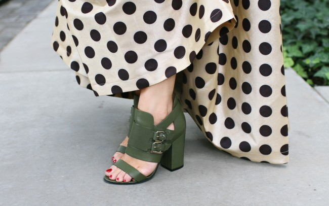 Green Givenchy Sandals