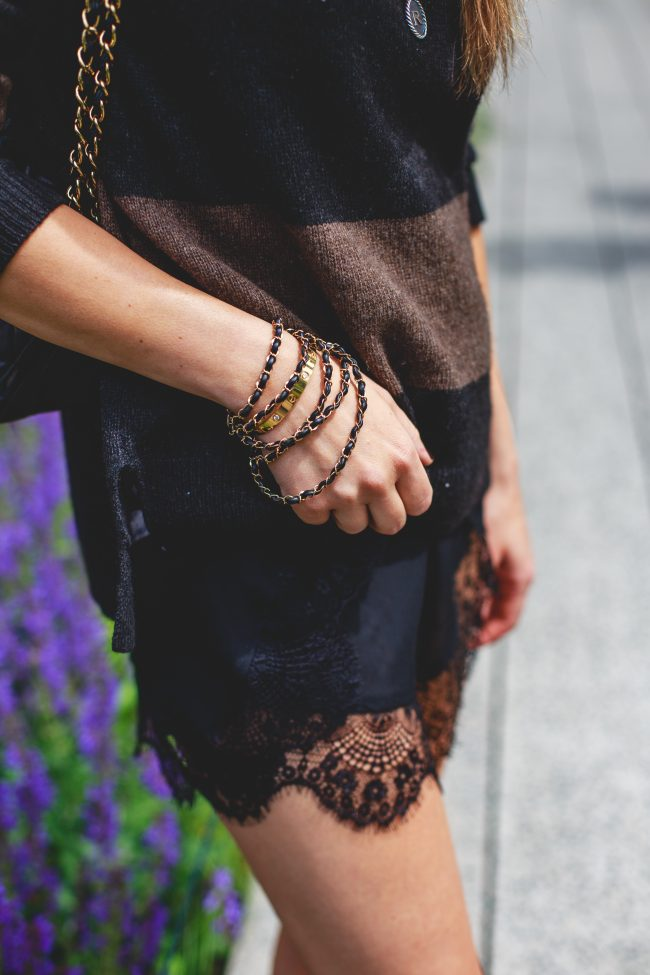 Cartier Love bracelet gold chain bracelet
