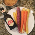 Father's Day Side Dish; Carrots with Ginger ale glaze