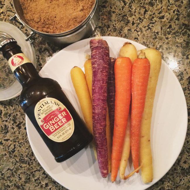 carrots with ginger ale glaze