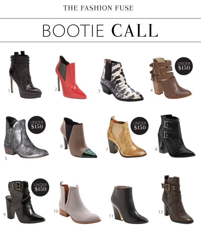 fall booties 2014