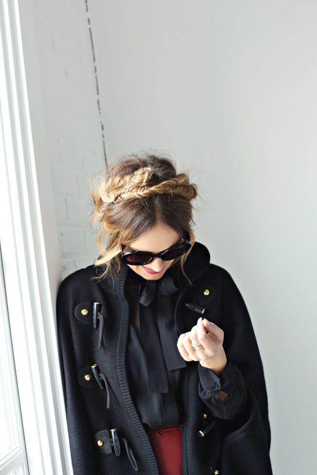 Millk Maid Braids Prada Sunglasses