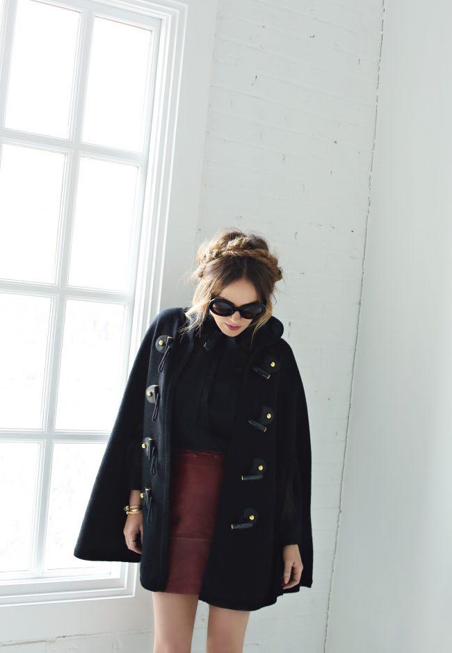 Rachel Zoe Regina Cape The Fashion Fuse Angie Wilson