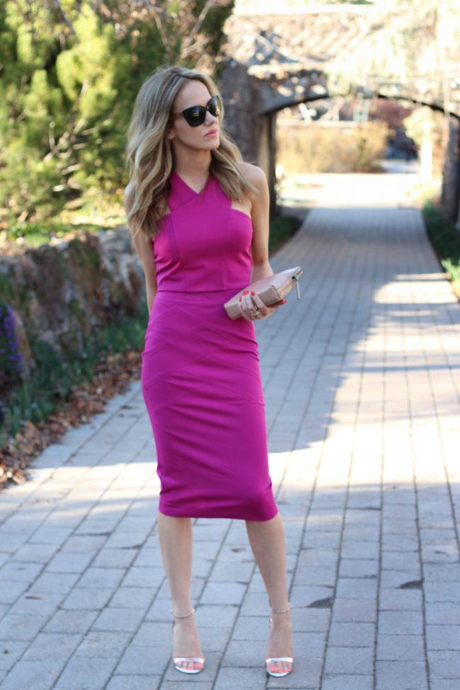 Hot Pink Two Piece