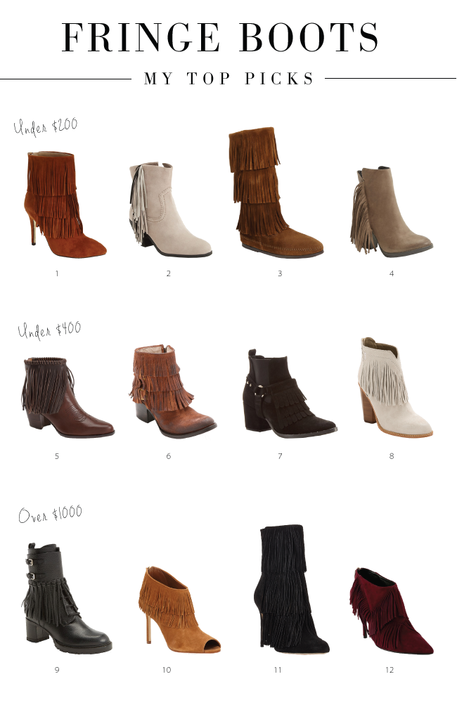 Fringe Boots • The Fashion Fuse