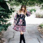 Transitional Fall Dress