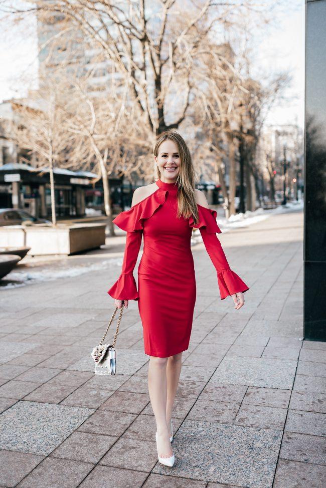 sheinside-red-open-shoulder-ruffle-dress-the-fashion-fuse