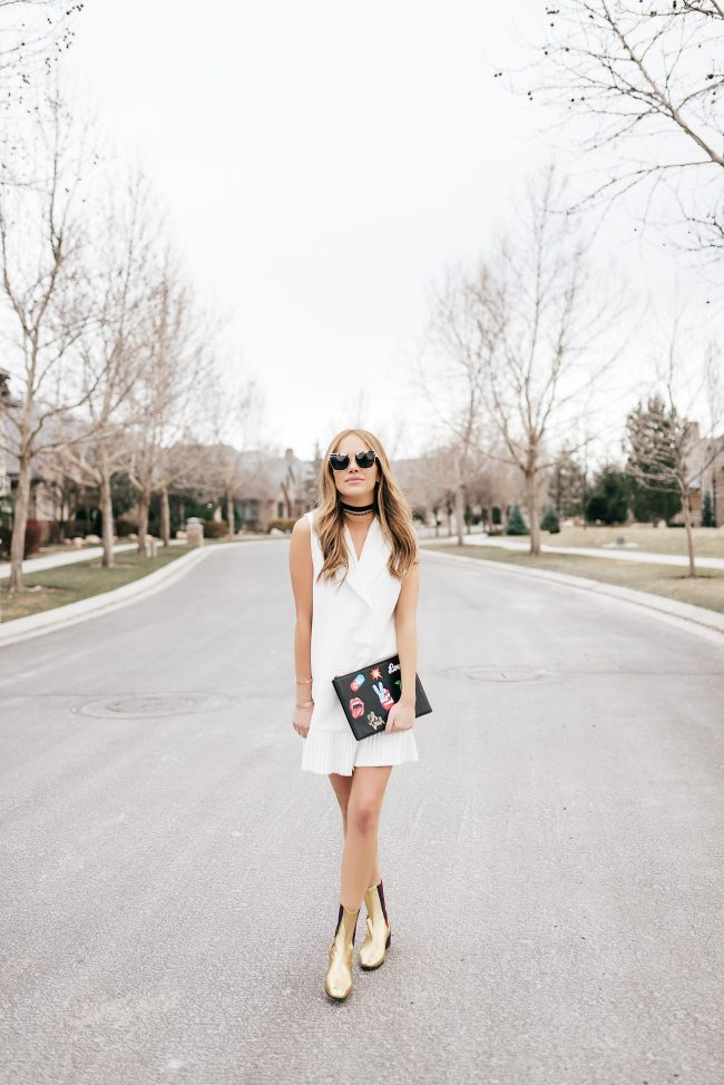 white-tuxedo-mini-dress-for-spring