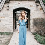 Lauren Conrad Collection for Kohl's Blue Palazzo Pants