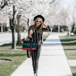 Striped Spring Co-ord Outfit