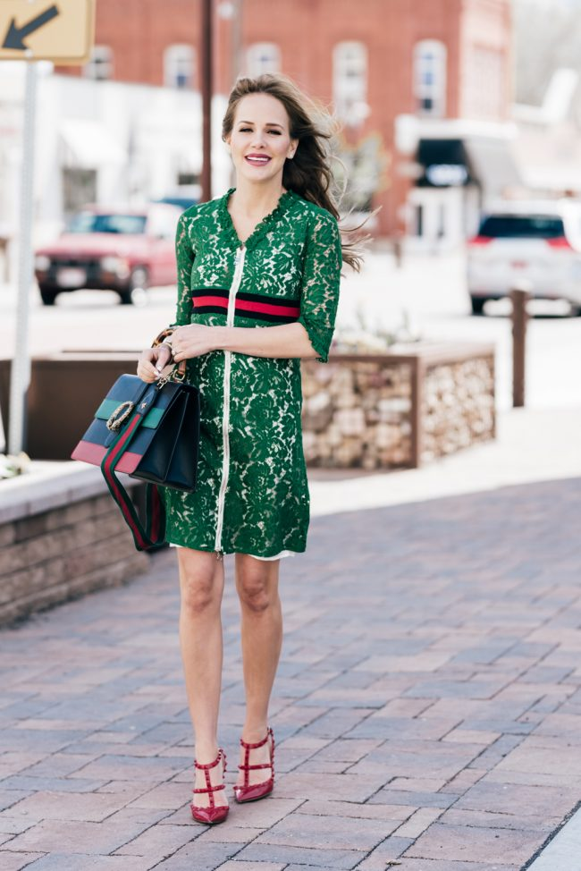 Green Style Dress