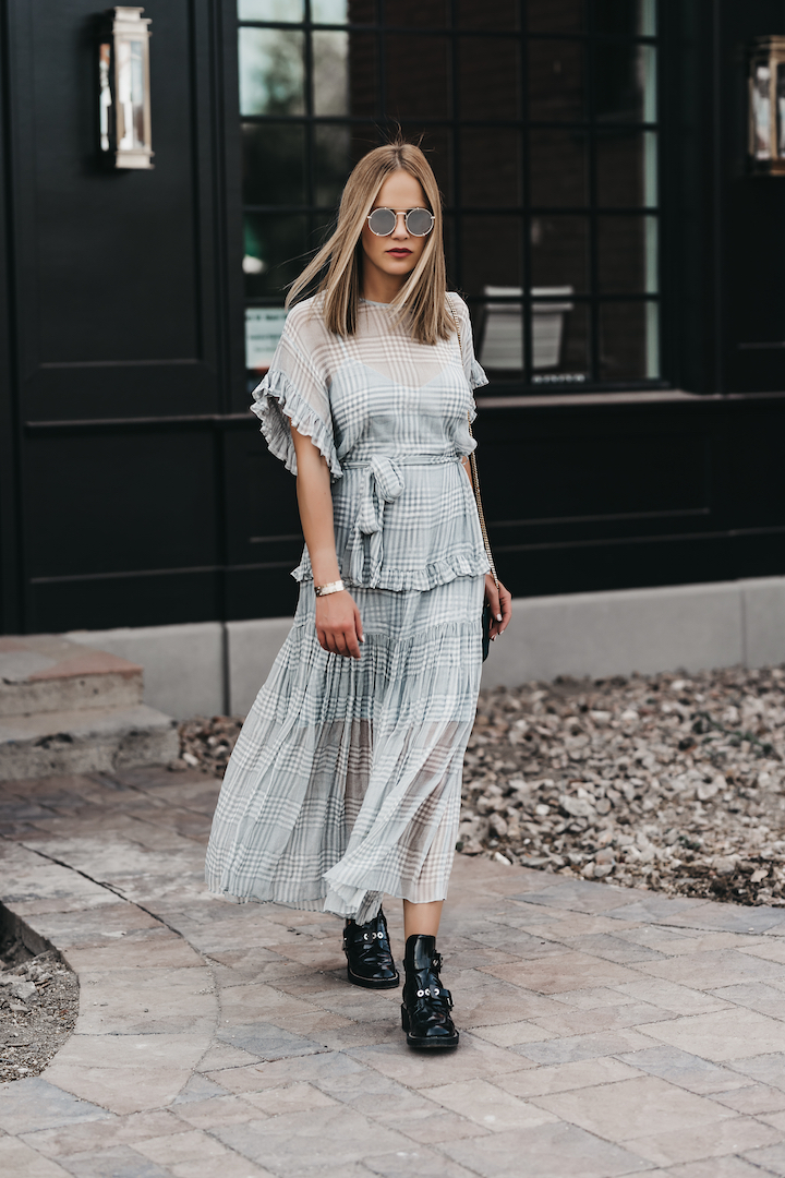 Summer Maxi Dresses with Boots