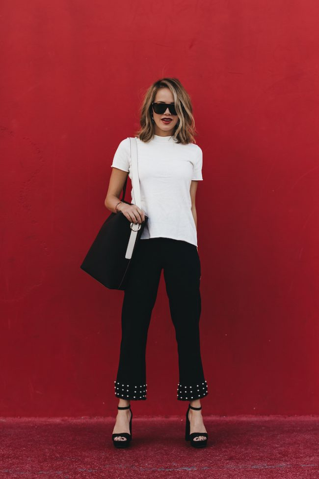 Must have pearl trousers for fall under fifty dollars
