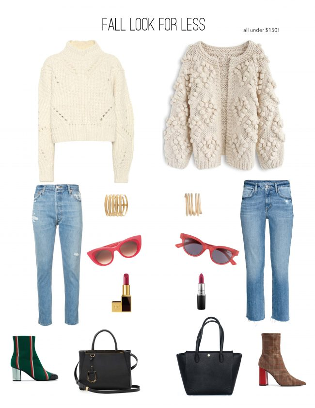 fall street style look for less