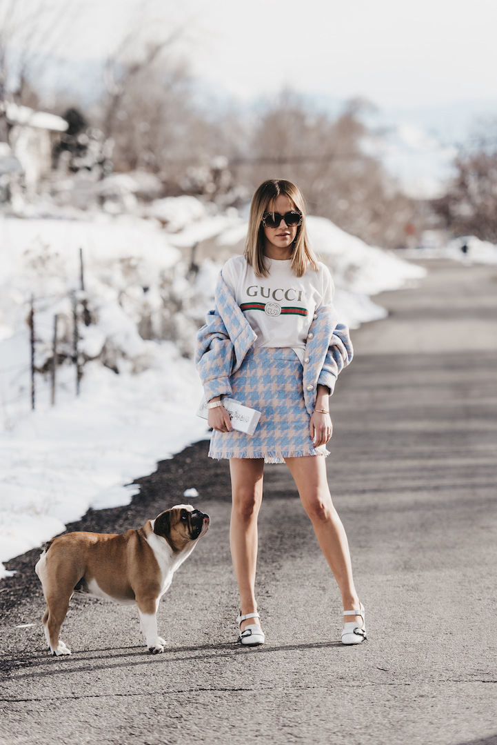 Fashion Fuse Clothing: Spring Houndstooth Co-ords Under $150 • The Fashion Fuse