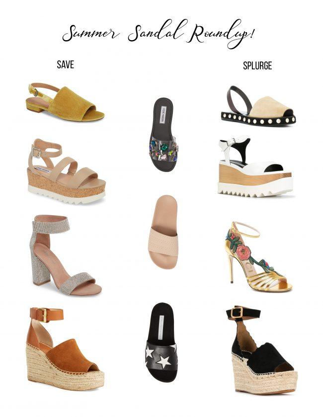 Summer Sandal Roundup!